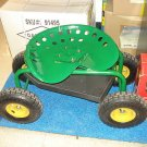 BRAND NEW ROLLING WORK SEAT WITH TRAY! GARDEN GARDENING