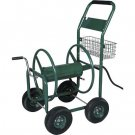 OUTDOOR HEAVY DUTY 300 FT GARDEN WATER HOSE REEL CART