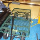 1000LB  Heavy Duty Mesh Nursery Wagon Yard GARDEN CART!