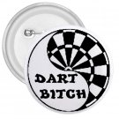 3 inch Funny Darts pinback button backpack pin 27027634