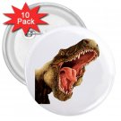 10 pack of 3 inch DINOSAUR BIRTHDAY PARTY favor pinback buttons backpack pins 27088244