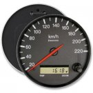 RACECAR SPEEDOMETER ODOMETER COLOSSAL button pinback 6 inch backpack pin
