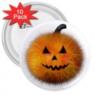 10 pack of 3 inch HALLOWEEN PUMPKIN pinback buttons backpack pins 27280514