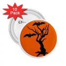 buttons HALLOWEEN 10 pack of 2.25 inch pinback backpack pin 27280558