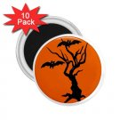 HALLOWEEN 10 pack of 2.25 inch Magnets Locker Party favors 27280559