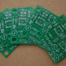 Custom made 2 layer PCB boards, 5 pcs max size 50x50mm  -  FREE Shipping