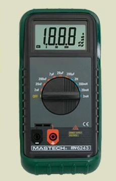 DIGITAL LC METER -  Mastech MY6243
