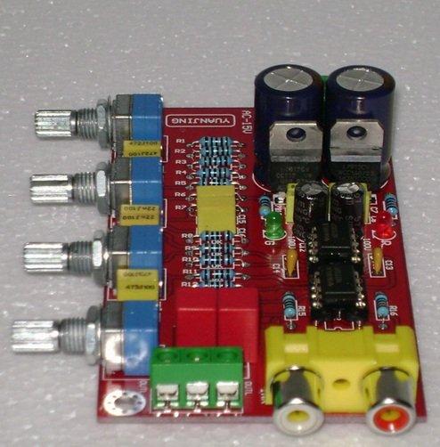 Stereo Preamplifier Volume Control Board NE5532 Kit New