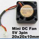 1x SUNON GM0501PFB3-8 5V 0.2W 20mm x20x10mm 2010 DC Fan