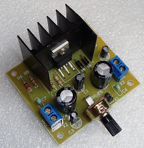 TDA2030A audio power amplifier DIY learning kit