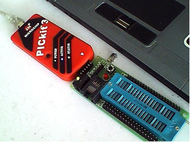 ICSP Adapter ZIF 40 pin / Clone Programmer PICKIT 3 USB