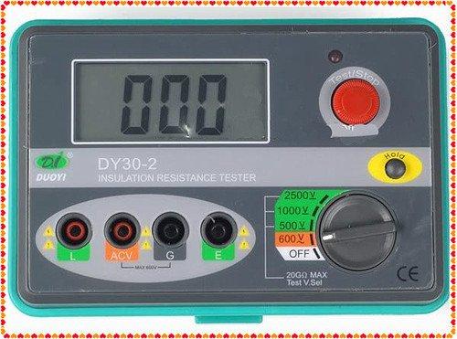 DY30-2 1000V 2000M ohm Digital Insulation Tester Megger   FREE Shipping