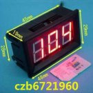Red LED Panel Meter Mini Digital Voltmeter DC 0V To 99.9V