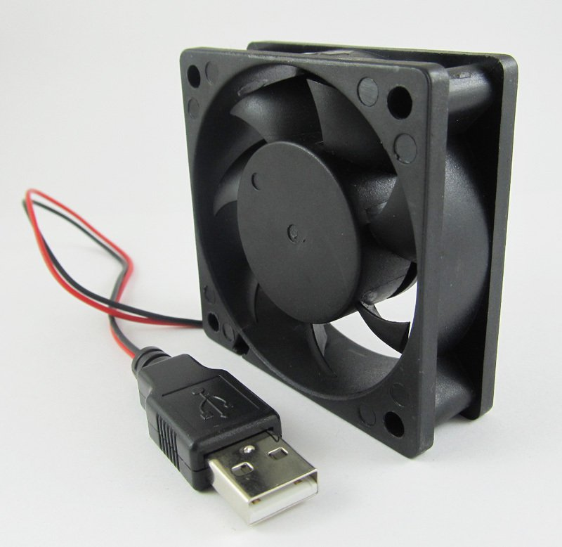 USB Powered Brushless Fan 60 x 60 x 25mm 5volt