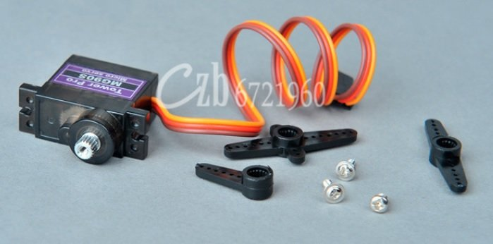 4Pcs MG90S Metal Gear Micro Tower Pro Servo For Helicopter Plane Boat Car