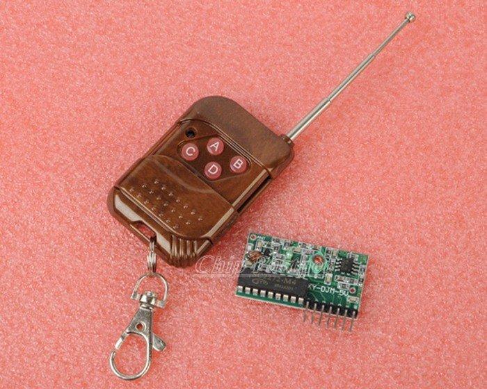 IC2262/2272 4 channel wireless remote control kits 4 key wireless remote control