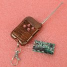 IC2262/2272 4 channel wireless remote control kits 4 key wireless remote control