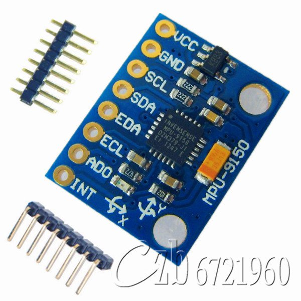 3 Axis Gyroscope+Accelerometer+Magnetic Field sensor