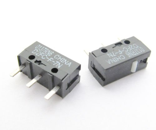 6x OMRON D2FC-F-7N Micro Switch Microswitch for Mouse