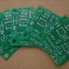 "PCB board manufactoring, 2 layer max size 100x100mm (3.9""x3.9"")"