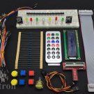 GPIO Starter kit for Raspberry Pi , T-Cobbler 1602 LCD Switch DS18B20 IR remote