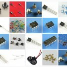 ELECTRONIC PROJECT STARTER KIT / BREADBOARD, OPAMP, REGULATOR, 555 timer, and more