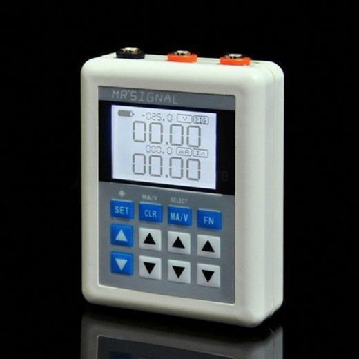 4-20mA / 0-10V Calibrator Simulator Current Voltage Transmitter PLC Valve