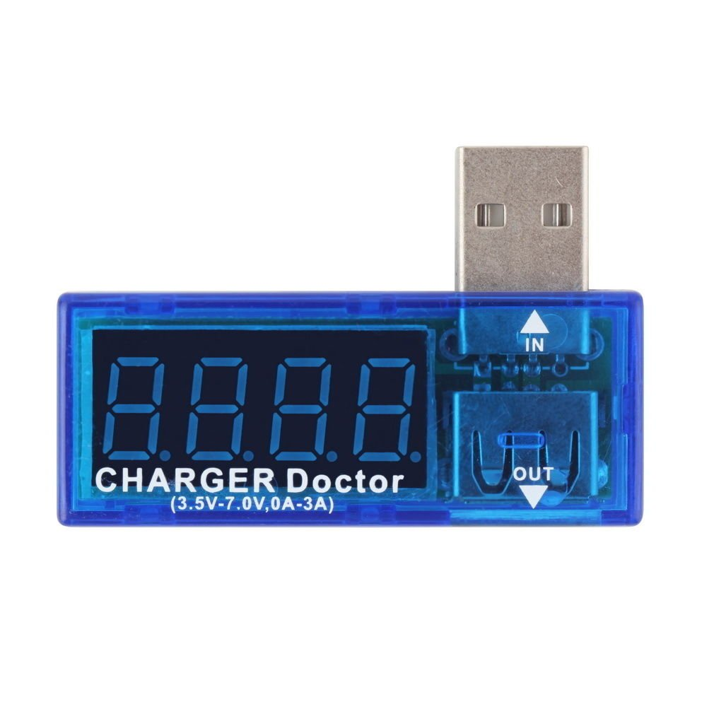 USB Charger Doctor Mobile Battery Tester Power Detector Voltage Current Meter FE