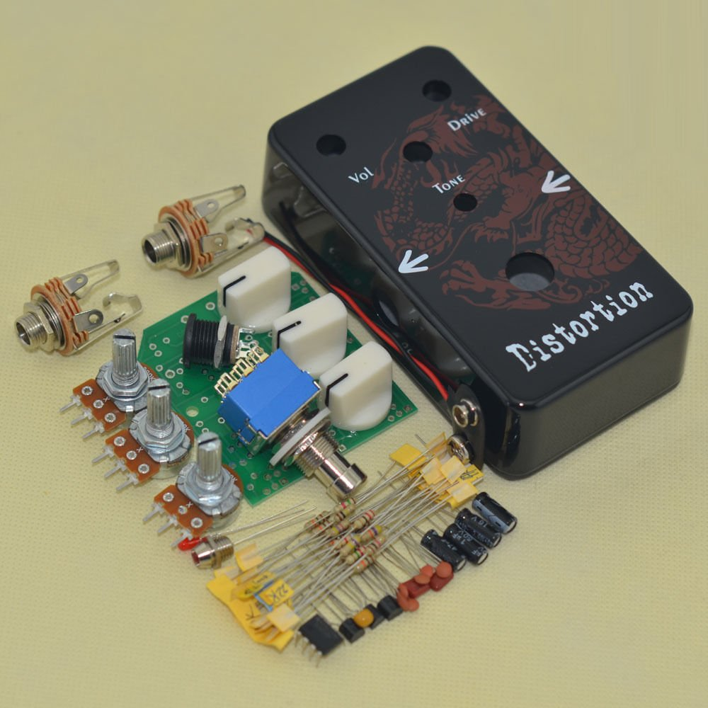 Guitar Effect Distortion Pedal DS-1 Suite DIY KIT