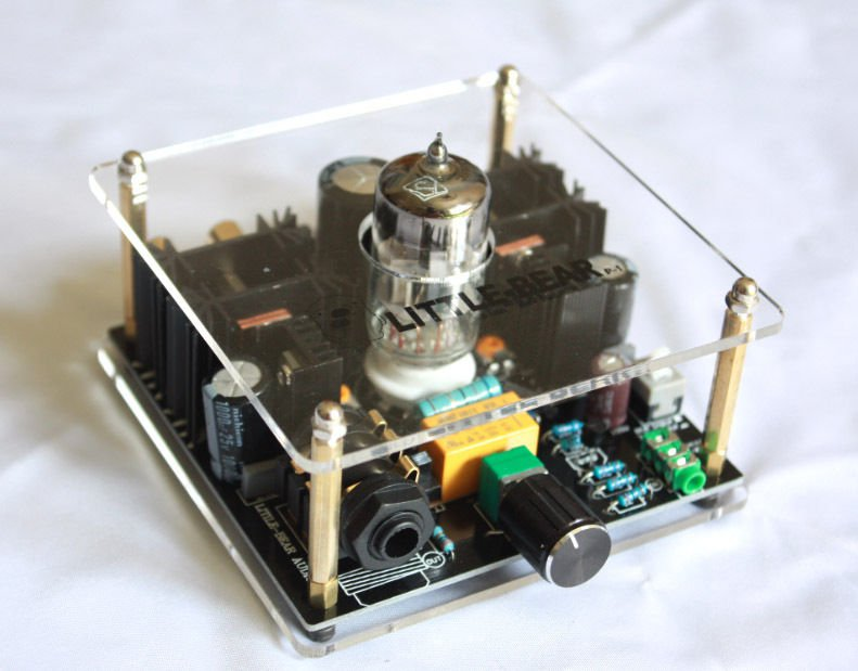 Tube Headphone PreAmplifier Great Sound Class A 12AU7