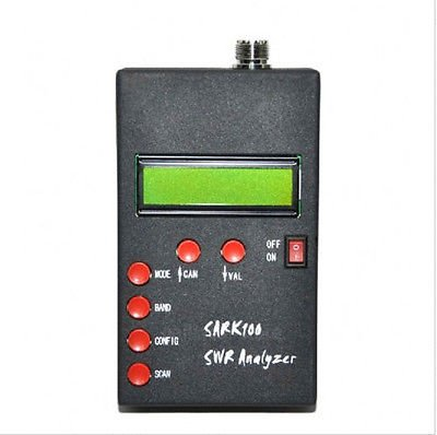 SWR Antenna Analyzer Meter Tester For Ham Radio SARK100  +PC Software