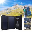 Outdoor Sport Waterproof  Solar Panel Bag Power Charger USB 5V 2.5A Dual