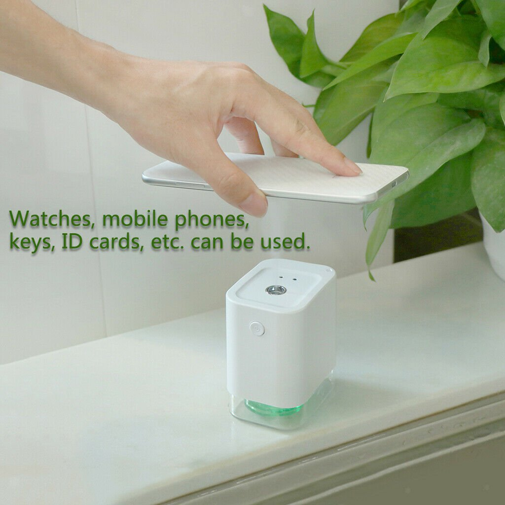 Automatic  Alcohol Spray Dispenser Hand Cleaner. Helps to protect against corona virus