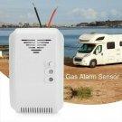 12V Combustible Gas Leak Alarm Detector Sensor Gas Leaking Camping Camper