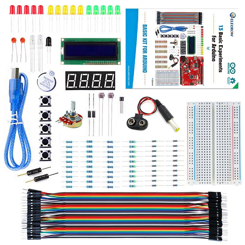 Beginner - Basic Kit for Arduino with Crowduino board &Guide Book