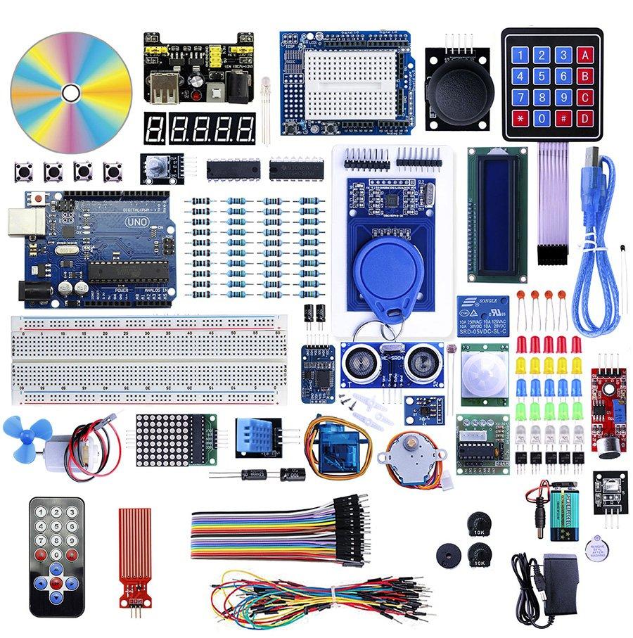 ELecrow UNO R3 Starter Kit with Multi Modules for Arduino