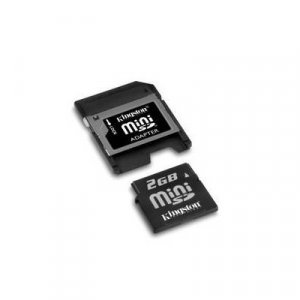 2 GB MiniSD card