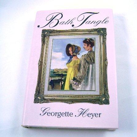 Bath Tangle by Georgette Heyer BOMC HB