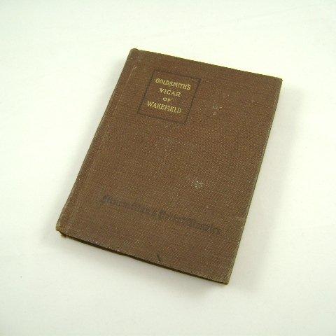 Goldsmith's Vicar of Wakefield Macmillan Pocket Classic 1917 HB