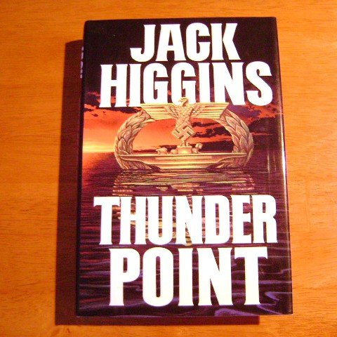 Thunder Point by Jack Higgins HB with DJ