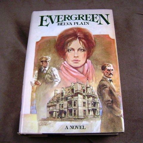 Evergreen by Belva Plain HB Novel 1978 Edition