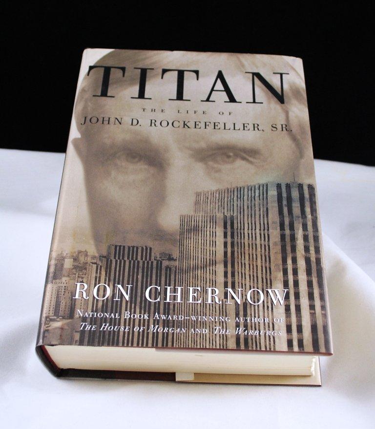 Titan The Life of John D. Rockefeller, SR. by Ron Chernow HB