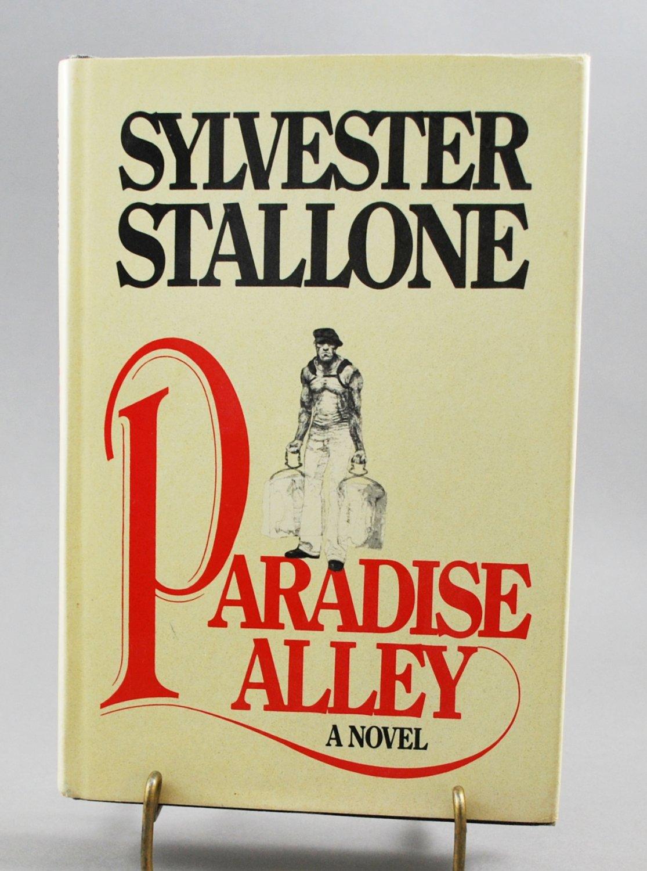 Paradise Alley by Sylvester Stallone Hardback Novel