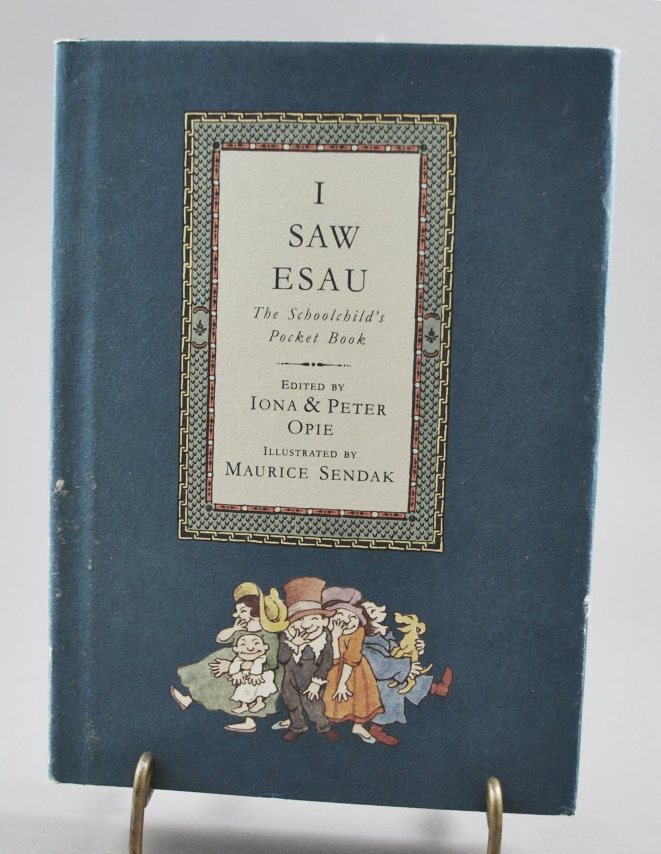 I Saw Esau The Schoolchild's Pocket Book Opie Sendak HB