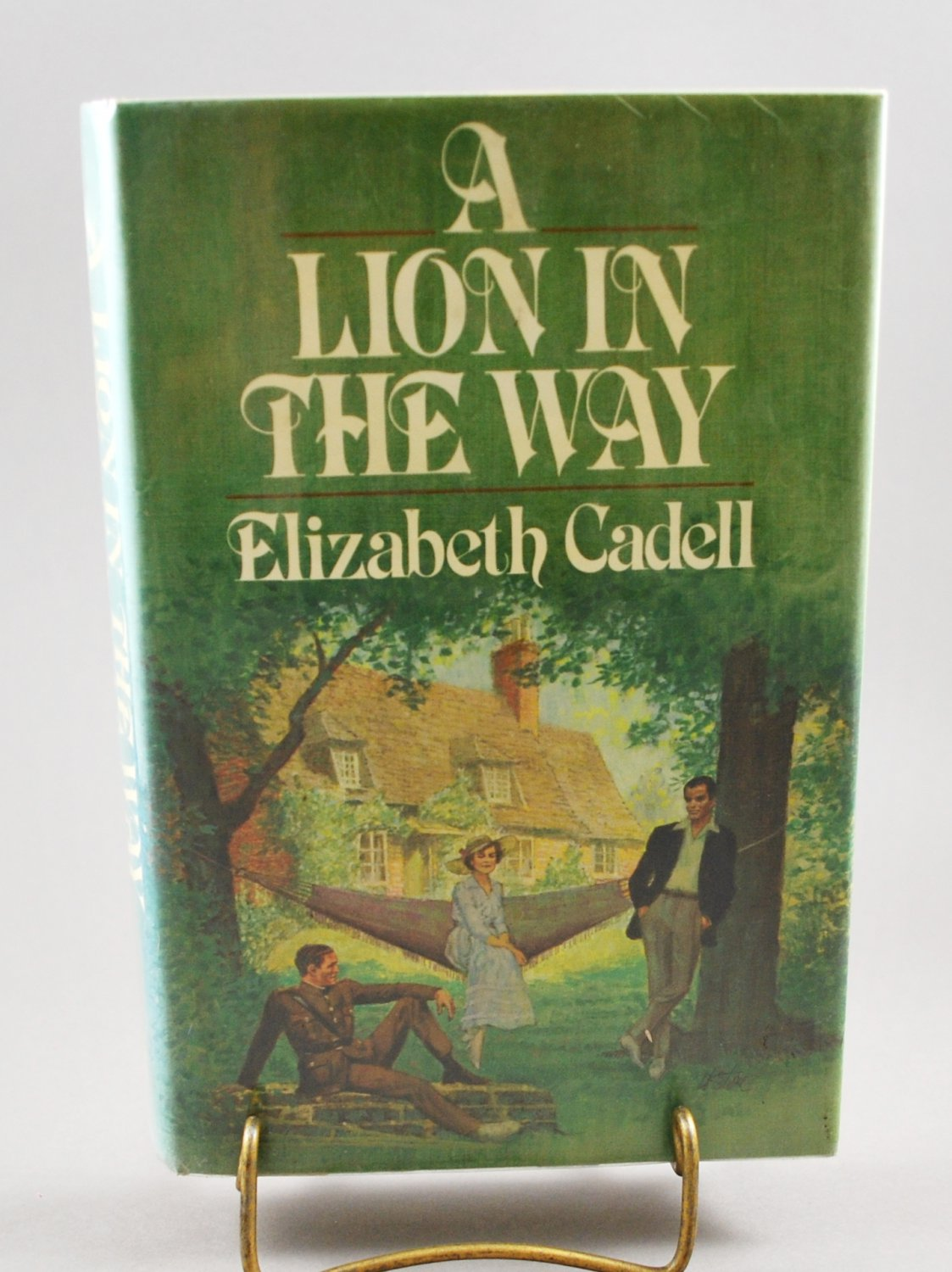 A Lion In The Way by Elizabeth Cadell HB w/ DJ