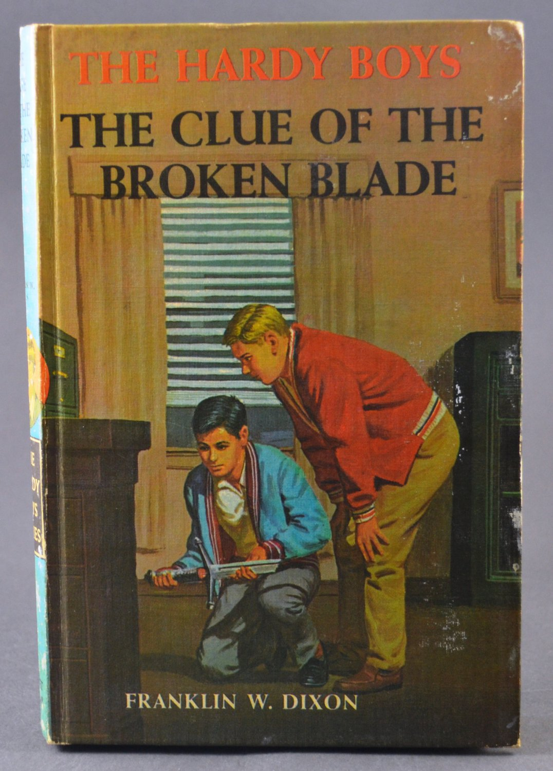 The Hardy Boys The Clue of the Broken Blade by Franklin W. Dixon PC