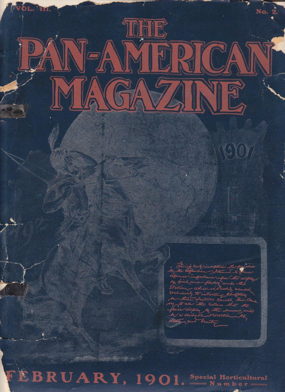 Pan-American Magazine - Febuary  1901 issue