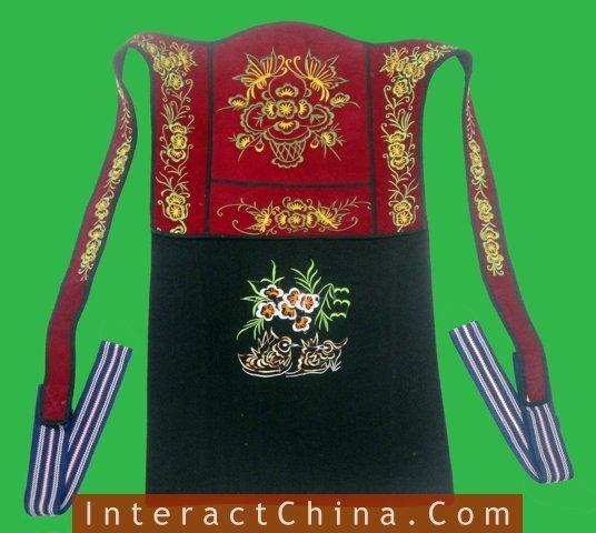 Genuine Mei Tai Baby Carrier 100% Handmade Art Front Back Sling Wrap Podaegi #174