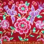 Flowery Mei Tai Baby Carrier 100% Handmade Art Front Back Sling Wrap Podaegi #119