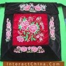 Flowery Mei Tai Baby Carrier 100% Handmade Art Front Back Sling Wrap Podaegi #122
